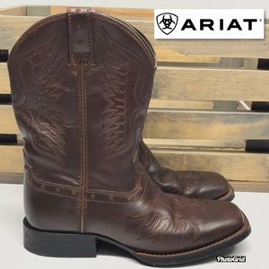 Ariat Honor Western Boots Youth 3 Brown